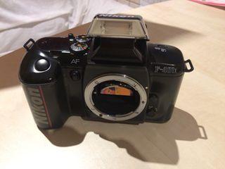 Cámara de fotos Nikon f401x réflex de carrete
