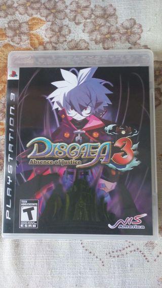 Disgaea 3 Sony PS3 PlayStation 3