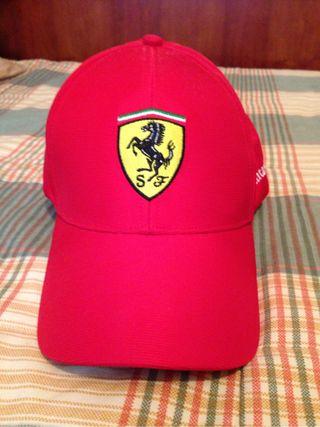 Gorra oficial Ferrari