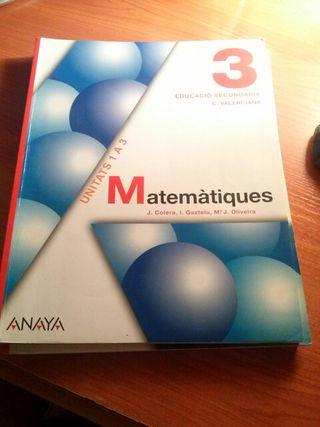 Matematiques 3 eso