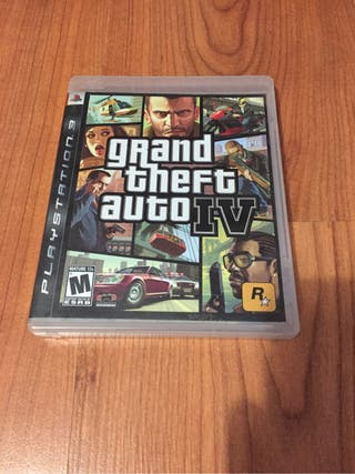 Grand theft auto IV juego ps3