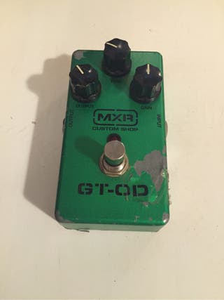 Pedal de guitarra. Overdrive MXR Custom Shop