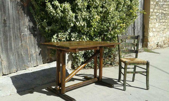 Mesas rusticas madera sillas de segunda mano por 90 en for Sillas madera segunda mano