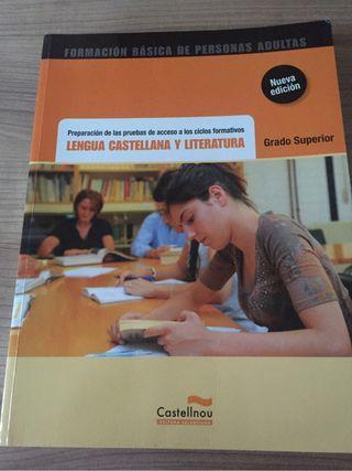 Libro de texto preparación ciclo superior