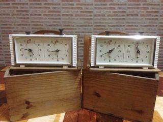 Relojes ajedrez jantar