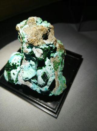 Malaquita con Crisocola mineral
