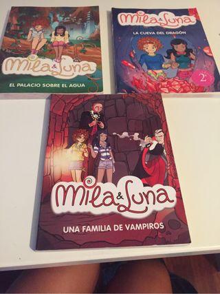 Libros Mila y Luna