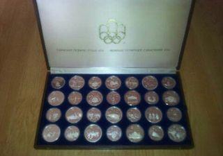 Monedas plata Montreal 1976