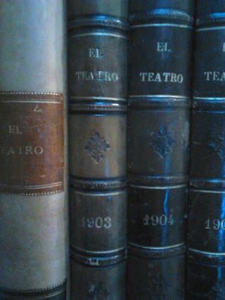 EL TEATRO (1900-1905). Colección completa