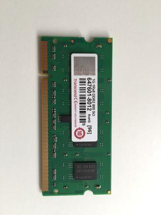 Memoria 1 Gb Transcend DDR2 SO-DIMM