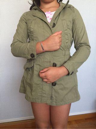 Cazadora niña Benetton t 7-8 años