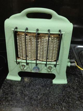 estufa vintage, funciona perfecte