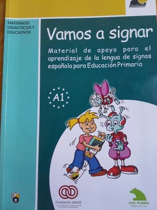 Libro lengua de signos