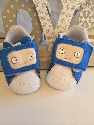 Por Número Bebé Zapatos De Mano Adidas Playeros 17 9 Segunda 8ggAwBqx