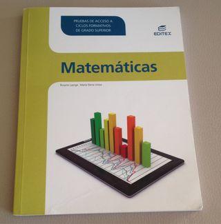 Libro de Matematicas Prueba Acceso Grado Superior