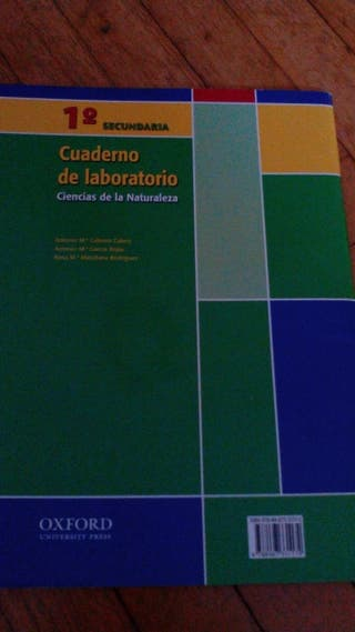 Cuaderno de laboratorio, ciencias de la naturaleza