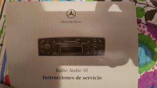 Radio casset mercedes w 203