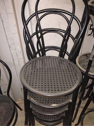 Lote de 12 sillas
