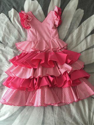 Vestido sevillana Granadino