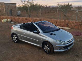 Peugeot cabrio, descapotable 206 cc