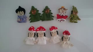 Marionetas de dedo ikea