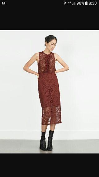 Top y falda Zara