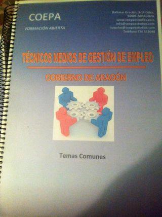 Manual Oposiciones Tecnico Medio De Gestion De Empleo