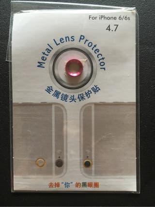 iPhone 6-6s protector de cámara