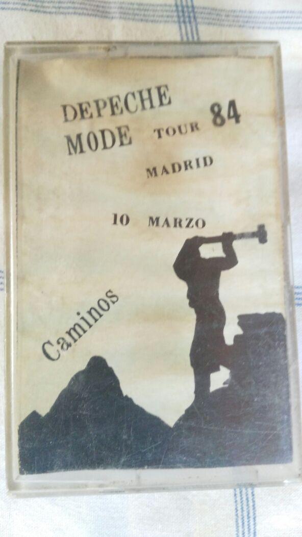 DEPECHE MODE: CONCIERTO DE 1984 EN CAMINOS