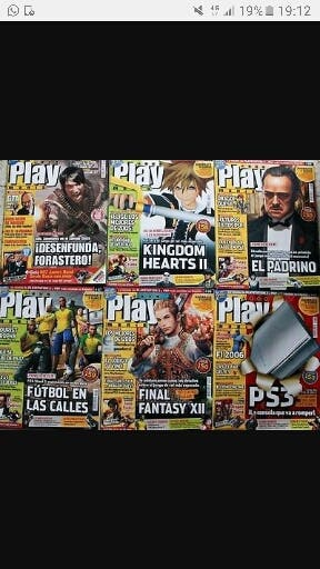 Revistas playmania