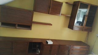 Regalado.Mueble de salon de roble mazizo nuevecito