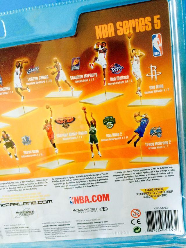 Figura NBA Yao Ming McFarlane nueva