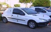 Coche Peugeot 206 Comercial DIESEL