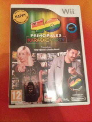 40 Principales Karaoke Party Para Wii
