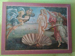 Cuadro Venus de Botticelli