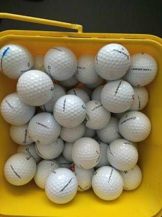 25 bola golf TAYLORMADE burner, soft perlas