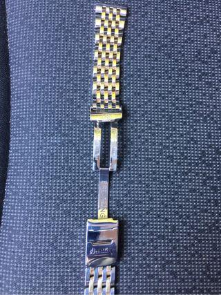 Armis pilot reloj Breitling de acero y oro