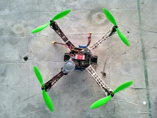 Multirrotor, drone 450 gps con dji baza lite