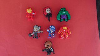 PINS Charms Marvel Superheroes Mini Zapatos Crocs & Pulseras Jibbitz Lot