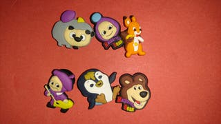PINS Charms Masha y el oso and the Bear Zapatos Crocs & Pulseras Jibbitz Lot