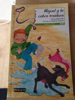 Libro Miguel y la cabra traidora