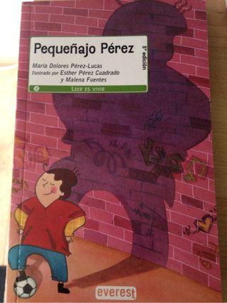 Libro pequeñajo Pérez