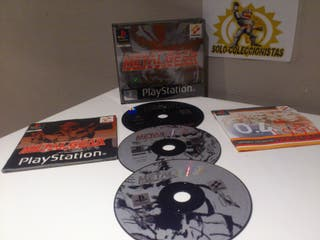 PSX Metal Gear Solid PAL ESP Completo**