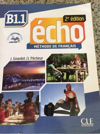 Libro ECHO B1.1 BACHILLER nuevos sin estrenar.