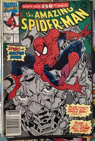 Comic Spiderman USA