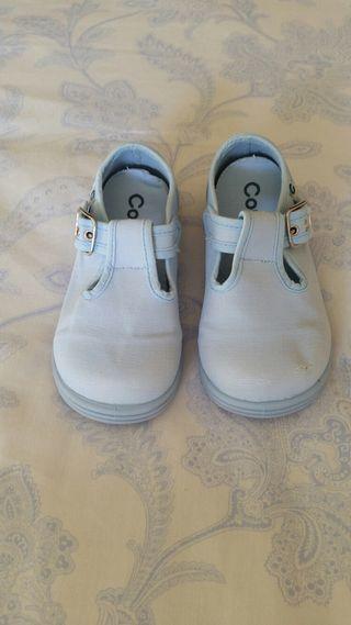 Sandalias de lona marca Conguitos t.25