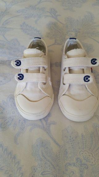 Zapatillas loneta t.25 marca Conguitos