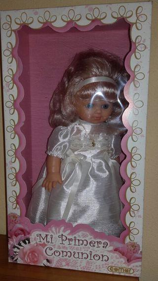 Muñeca primera comunion