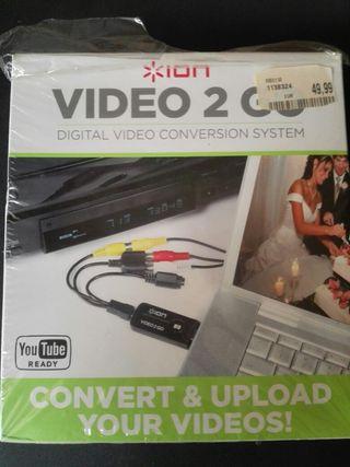 Sistema de conversión a vídeo digital