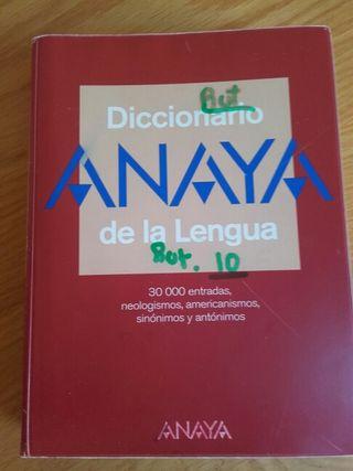 Diccionario anaya